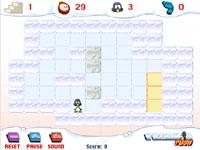 Скачать флеш игру Пингвин-грузчик.