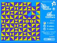 Скачать флеш игру Треугольники и квадраты.