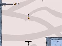 Скачать флеш игру Рисованный парень