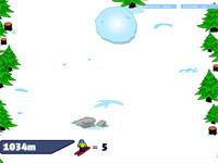 Скачать флеш игру Снежный ком