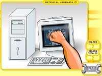 Скачать флеш игру Разбей компьютер