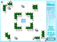 Скачать флеш игру Игра в снежки