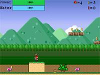 Скачать флеш игру Летающий Марио