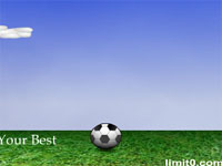 Скачать флеш игру Футбольный мяч.