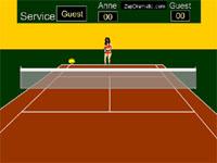 Скачать флеш игру Теннис.