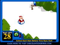 Скачать флеш игру Спуск Деда Мороза.