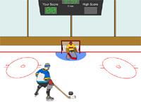 Скачать флеш игру Хоккейный симулятор.