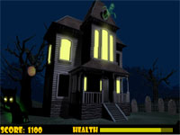 Скачать флеш игру Дом с призраками.