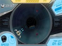 Скачать флеш игру Стремительный туннель.
