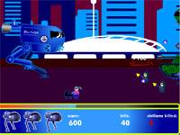 Скачать флеш игру Робот