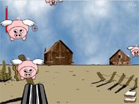 Скачать флеш игру Подстрели свинью