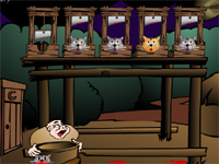 Скачать флеш игру Кошачьи головы
