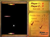 Скачать флеш игру Космический ПинПонг.