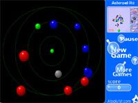 Скачать флеш игру Разноцветные шарики.