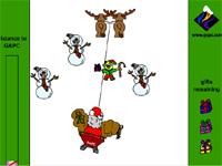 Скачать флеш игру Дед Мороз