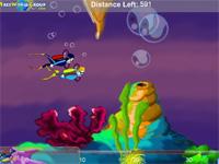 Скачать флеш игру Подводные гонки
