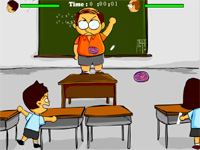Скачать флеш игру Битва с преподавателем