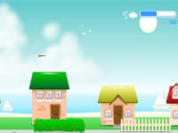Скачать флеш игру Бумажный самолетик