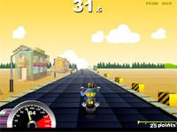 Скачать флеш игру Мотогонщик