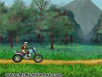 Скачать флеш игру Мотоциклист