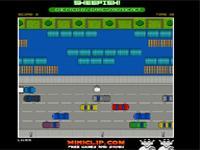 Скачать флеш игру Робкий пешеход.