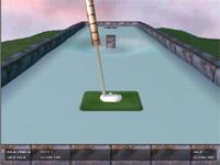 Скачать флеш игру 3D Гольф.