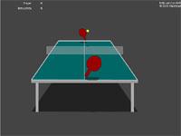 Скачать флеш игру Настольный теннис