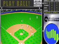 Скачать флеш игру Бейсбол.