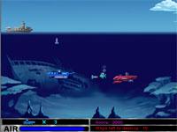 Скачать флеш игру Подводная лодка.