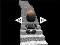 Скачать флеш игру Кривая лестница.