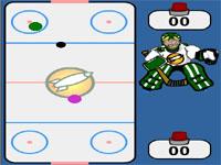 Скачать флеш игру Воздушный хоккей