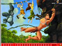 Скачать флеш игру Тарзан