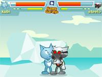 Скачать флеш игру Битва котов