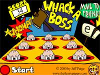 Скачать флеш игру Ударь босса