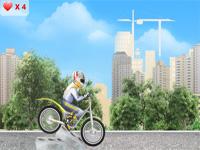 Скачать флеш игру Велосипедист