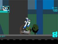 Скачать флеш игру Робот полицейский