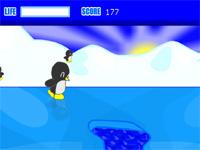 Скачать флеш игру Пингвин