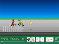 Скачать флеш игру Мотоциклист.