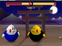 Скачать флеш игру Битва яиц.