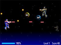 Скачать флеш игру Космический воин