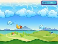 Скачать флеш игру Полет птицы.