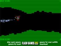 Скачать флеш игру Вертолетный слалом 2.