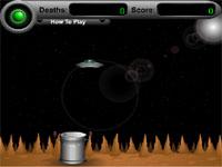 Скачать флеш игру Посадка НЛО