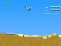 Скачать флеш игру Битва в пустыне.