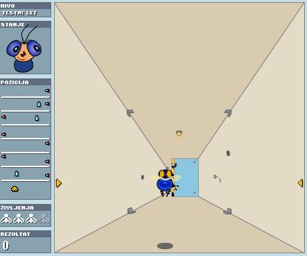 Скачать флеш игру Летящая муха 2.