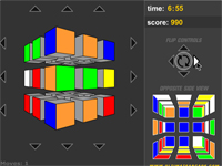 Скачать флеш игру Кубик-Рубик.