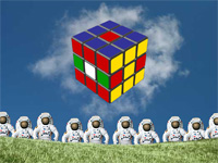 Скачать флеш игру Кубик-Рубик