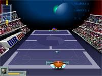 Скачать флеш игру Галактический теннис.