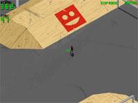 Скачать флеш игру BMX парк.