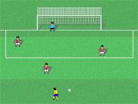 Скачать флеш игру Футбольный удар